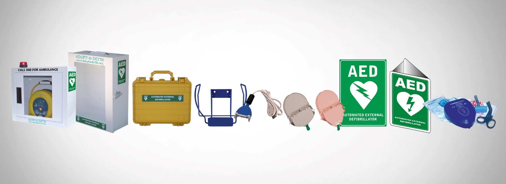 Additional Accessories for AED Package