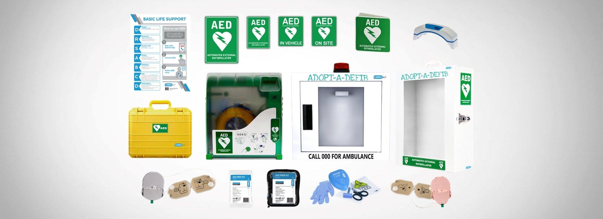 Additional Defibrillator Accessories