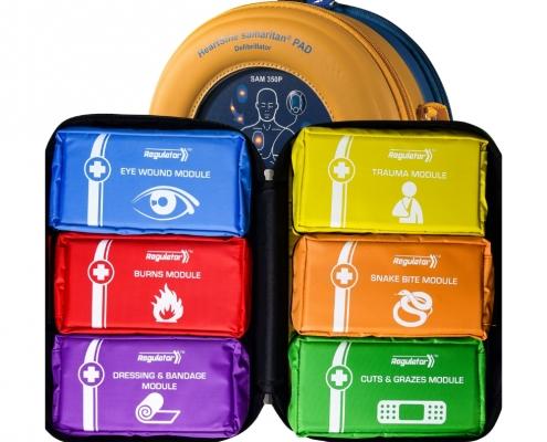Workplace Defibrillator Plus First Aid Kit