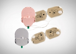 HeartSine Samaritan Adult Children PAD-Pak Electrode & Battery