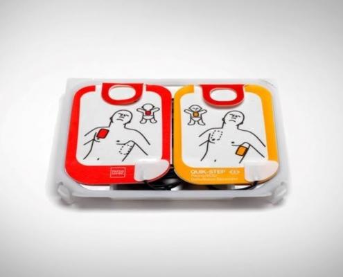 LifePak CR2 Adult Paediatric Pads
